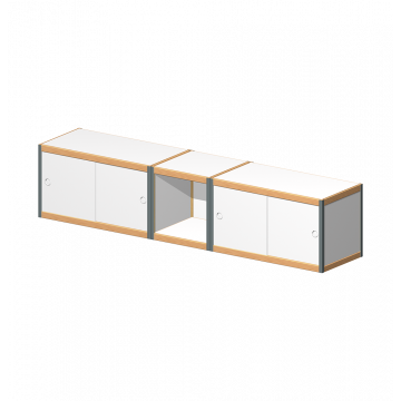 Wall-mounted cabinets Combo 3