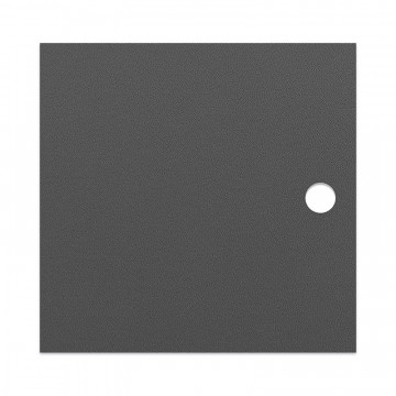 Dark grey MDF door