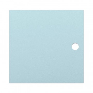 Light blue MDF door