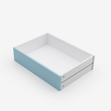 Light  blue MDF drawer
