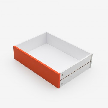 Tangerine MDF drawer
