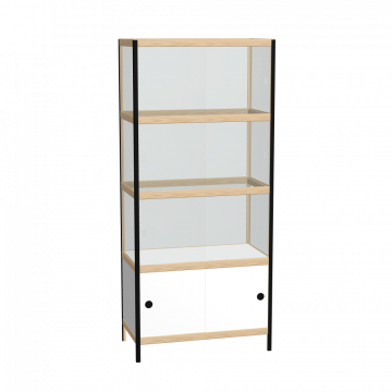 Display cabinet (178x80x42 cm)