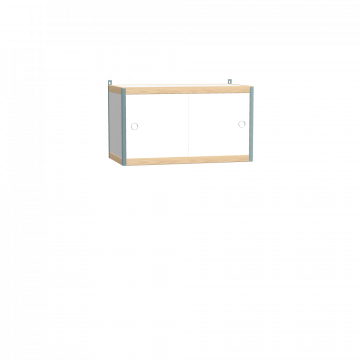 Wall mounted cabinet (45x80x42 cm)