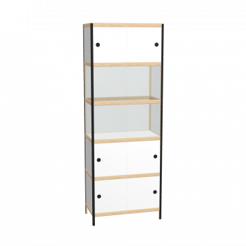 Display cabinet (219x80x42 cm)