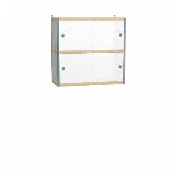 Wall mounted cabinet (86x90x42 cm)
