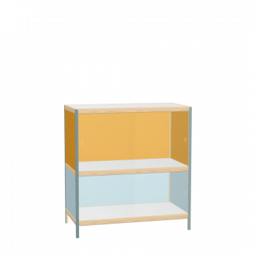 Display cabinet (106x100x52 cm)