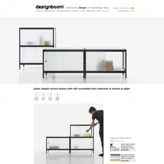Press Kewlox meubles de rangement design